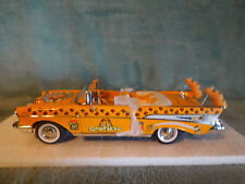 "Danbury Mint-"" GARFIELD PARADE CAR "" 1957 Chevy Bel Air Convertible 1:24"