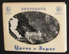 9 Snapshots YPRES - Leper- Carnet de 9 mini-photos