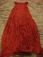 SHORT SLEEVED TULIP SILK DRESS Red