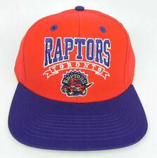 TORONTO RAPTORS NBA VINTAGE FLAT BILL SNAPBACK RETRO 2-TONE CAP HAT NEW! BANNER