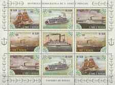 Timbres Bateaux St Thomas et Prince BF 810/3 ** lot 18003