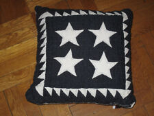 1992 AMERICAN Country HANDMADE QUILTED Throw PILLOW JUDI BOISSON 100% Cotton NEW