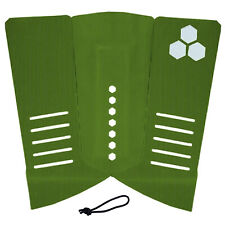 Channel Islands 3 Piece Arch Fish Surfboard Traction Pad Green + Free String