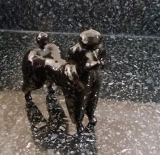 Beswick Pocelain Black Poodle Dog Figure Figurine Very Good Condition