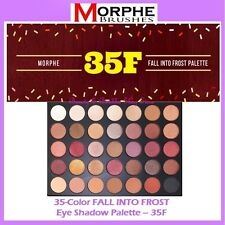 NEW Morphe Brushes 35-Color FALL INTO FROST Eye Shadow Palette 35F FREE SHIPPING