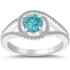 Schmuck und Diamanten in Blau