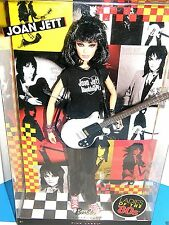 Barbie    Joan Jett & Blackhearts     Ladies of the 80's   2009 mattel collector
