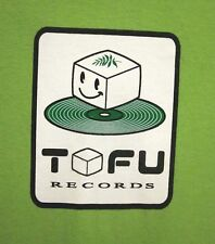 TOFU RECORDS med T shirt indie-rock tee TM Revolution anime J-Pop Polysics Puffy