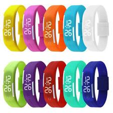 sport touch di LED silicone Moda orologio da polso digitale impermeabile fb