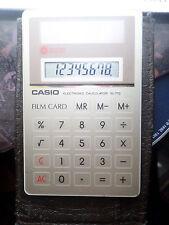 Calculatrice Casio SL-770 Solaire Film Card