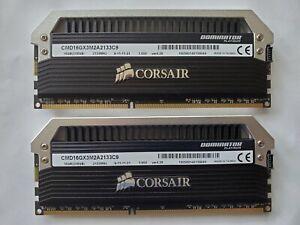✔✔ CORSAIR Dominator PLATINUM 16GB (2x8GB) DDR3 2133MHz ✅CL9✅ PC3-17000