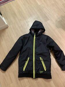 Obermeyer Fully Insulated Hooded Ski / Snowboard Jacket  Boy's Size 16