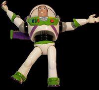 "12"" Talking Light-Up Buzz Lightyear karate chop action Toy Story Disney Pixar"