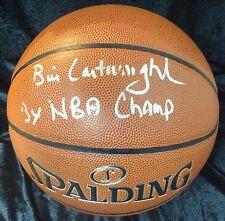 Bill Cartwright Chicago Bulls I/O Basketball Autograph sign 3x NBA CHAMP TriStar