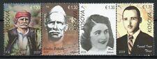 Kosovo Stamps 2019 MNH Heroes Marie Shlaku Idriz Seferi People 4v Strip