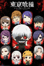 Tokyo Ghoul Chibi Characters Anime Maxi Poster Print 61x91.5cm   24x36 inches