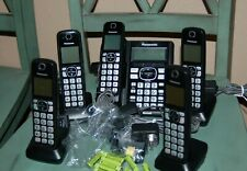 Panasonic Kxtg575 Link2Cell Cordless Phone (5 handsets)