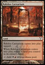 MTG 4x RAKDOS CARNARIUM - Dissension *Land DEUTSCH GERMAN*