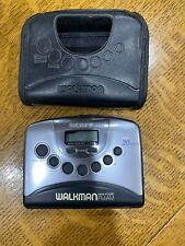 Sony Walkman Wm-Fx251 Digital Tuning Fm/Am Stereo Cassette - Silver & Black
