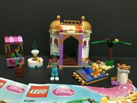 Lego Disney Princess 41061 Jasmine's Exotic Palace 100% Complete w/ Manuals