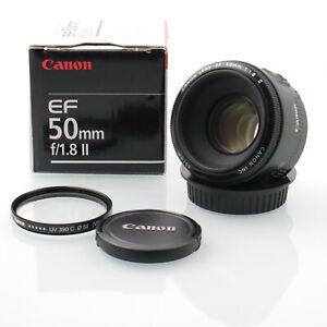 Canon EF 50mm f/1.8 II in OVP