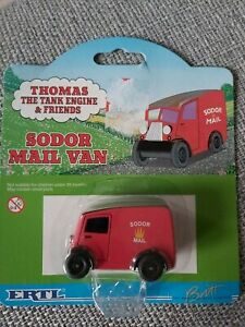 ERTL die cast thomas trains (Sodor Mail Van)