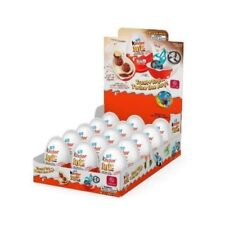 Kinder Joy Surprise Eggs and Toy Chocolate Cocoa Cream Wafers Candy 12 Count