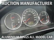 Mazda 323 BJ 1998-2003 Chrome Cluster Gauge Dashboard Rings Speedo Trim x3
