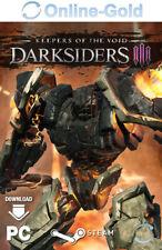 Darksiders 3 Keepers of the Void Key - Steam PC Spiel Download Code DLC [DE/EU]