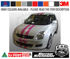 Suzuki Swift ESM GT Racing Stripes Fits Honda Small Holden KIA 3m-50