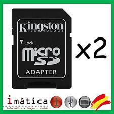 ADAPTADOR MICRO SD A SD MICROSD LECTOR TARJETA TARJETAS 64GB 8GB 4GB 16GB 32GB
