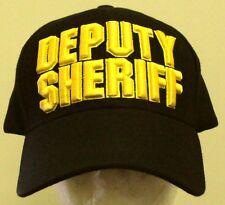 SHERIFF DEPUTY POLICE OFFICER LAW ENFORCEMENT UNIFORM AGENT LAPD COPS CAP HAT OS