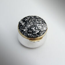 Buccellati Christmas Small Compact Sterling Silver