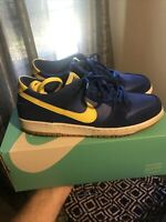 Nike SB Dunk Low Boca Jr Size 10.5 Great Condition