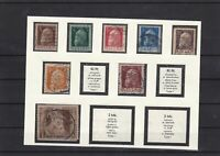 Bavaria 1911 used  stamps  Ref 8096