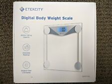 Brand New Etekcity Digital Body Weight Bathroom Scale Sliver