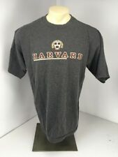 Vtg 90s Harvard University Ivy League College S/S Gray Sz L Jansport T-shirt
