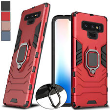 For Samsung Galaxy Note 9 Hybrid Magnetic Kickstand Ring Holder Hard Case Cover