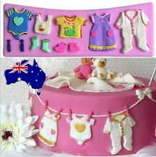 Baby Clothes Mold - Baby Shower Cupcakes Cake - Cake Decorating Mould