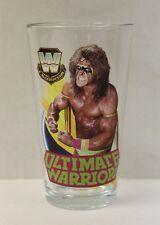 Ultimate Warrior WWE Legends 16 oz. Pint Glass 'TOON TUMBLER NEW!!
