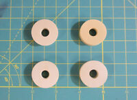 4 Rubber Chassis Mounting Washers for your Old Antique Wood Vintage Tube Radio