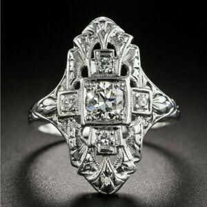 Fashion Women Men Vintage Gothic Punk Skull Ring Cool Band Rings Jewelry Unisex