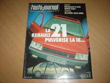 AJ N°21 1985 BMW 325i.R5 GTD / 205 GRD.Renault 21