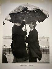 MICHELANGELO DURAZZO -Poster Fotografico -Federico Fellini/Mastroianni -'60/70-