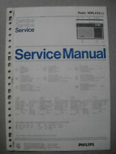 Philips 90 RL434 Kofferradio Service Manual