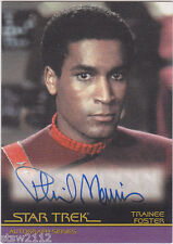 STAR TREK THE COMPLETE MOVIES A11 PHIL MORRIS TRAINEE FOSTER AUTOGRAPH