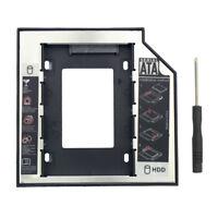12.7m SSD Adapter SATA 3.0 HDD Hard Disk Drive CD-ROM Bracket Internal Enclosure