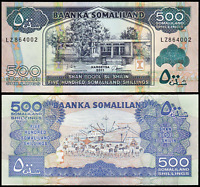 Somaliland 500 Shillings 2011 Uncirculated World Banknote Money Bill Currency