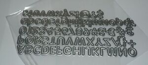 Alphabet and Number Die - Both Upper & Lower Case Letters