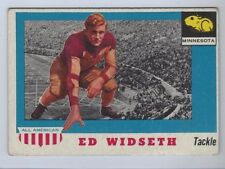 1955 TOPPS ALL AMERICAN # 48 ED WIDSETH NICE CARD